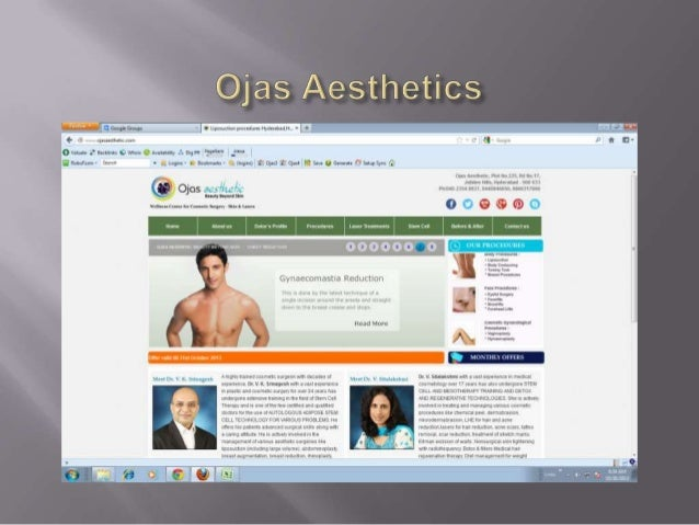       Ojas Aesthetic is a comprehensive cosmetic medicine and surgical center who have pioneered in using adipose stem ...