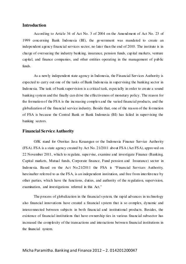 otoritas jasa keuangan otoritas jasa keuangan paper
