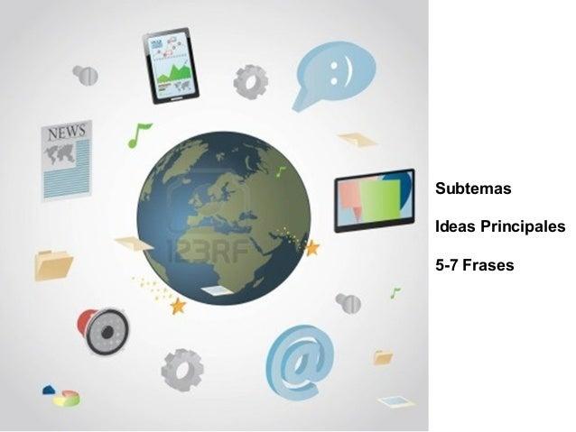 SubtemasIdeas Principales5-7 Frases