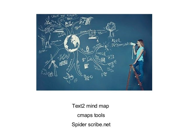 Text2 mind map  cmaps toolsSpider scribe.net