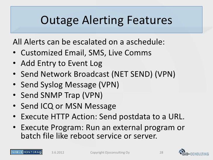 Ojoconsulting oy nimbus monitoring service description v1 for Consul external service