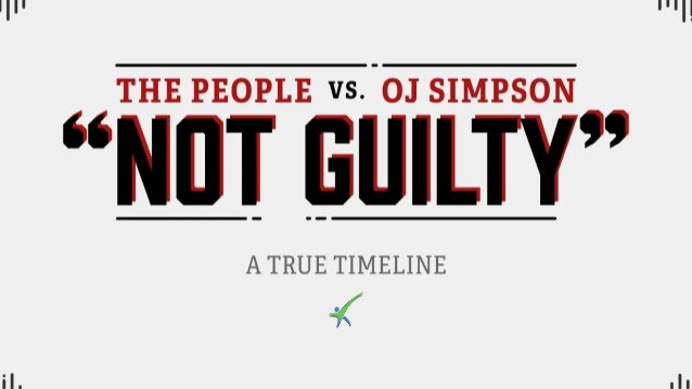 The People vs. OJ. Simpson:A True Timeline