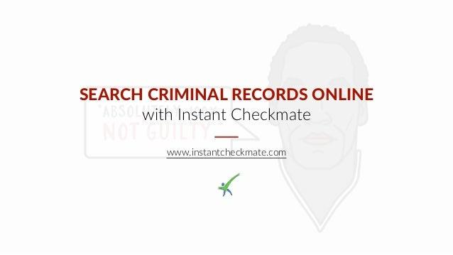 California Criminal Records Search