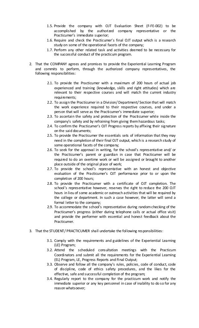 ojt accomplishe report Employee self-report of accomplishments overview september 2010 table of contents self-report of accomplishments overview 3.