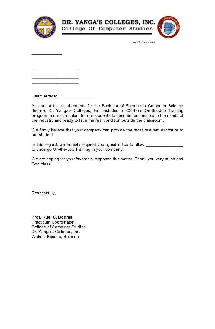 Examples of a Cover Letter for a Business Administration Position