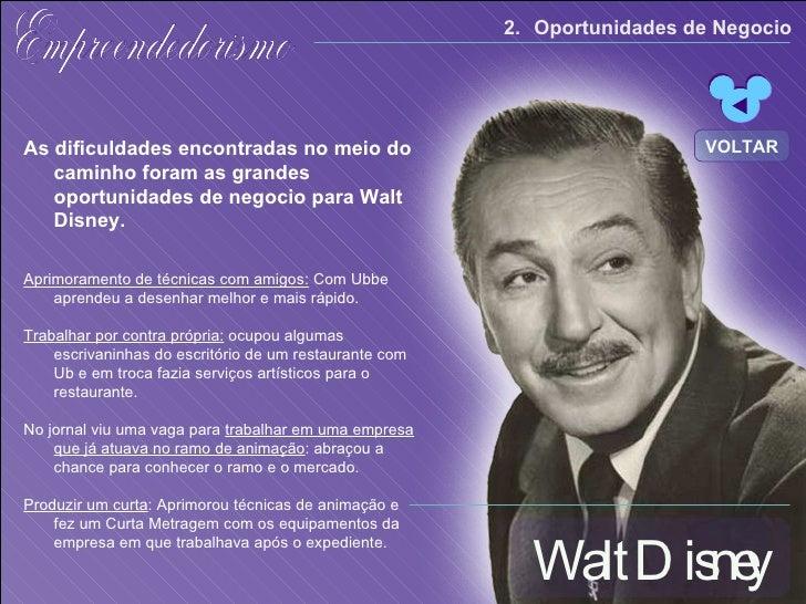 Empreendedorismo Walt Disney