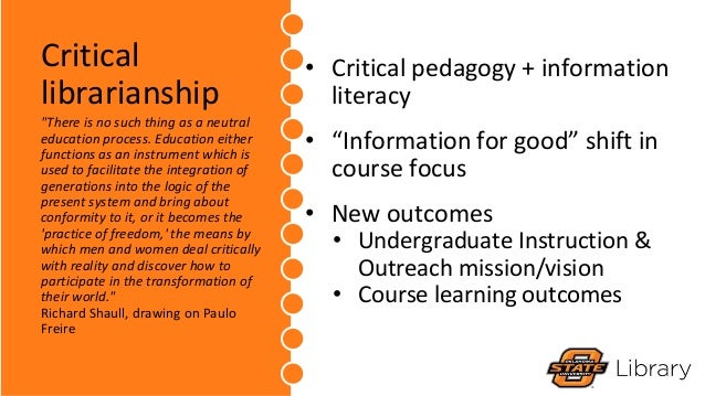 Intentionally Disruptive: Developing & Delivering a Critical Information Literacy Course Slide 3