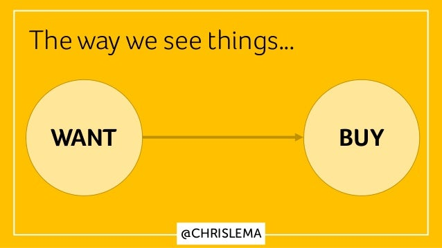 @CHRISLEMA The way we see things… WANT BUY