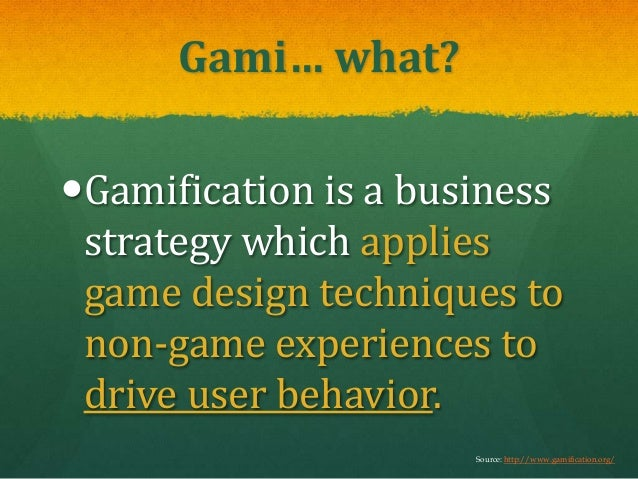 """Survival of the Fittest: The Biggest """"Game"""" Will Win (Gamification) Slide 2"""