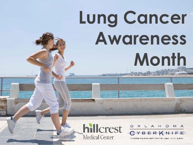 Lung Cancer  Awareness      Month