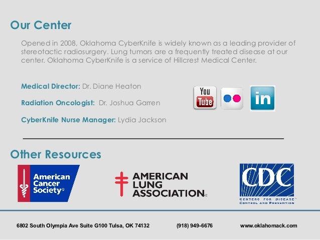Oklahoma Cyberknife Lung Cancer Awareness