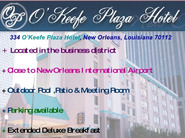 +  Located in the business district +  Close to New Orleans International Airport +  Outdoor Pool ,Patio & Meeting Room + ...