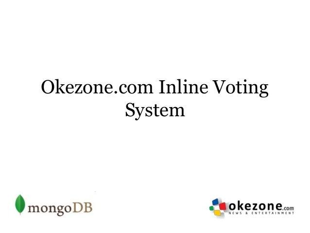 Okezone.com Inline Voting         System