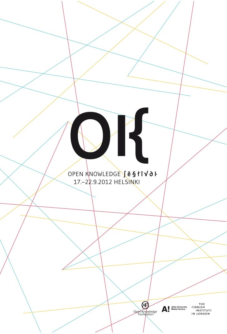 3 // open knowledge festival // welcome             WELCOME TO THE                                                        ...
