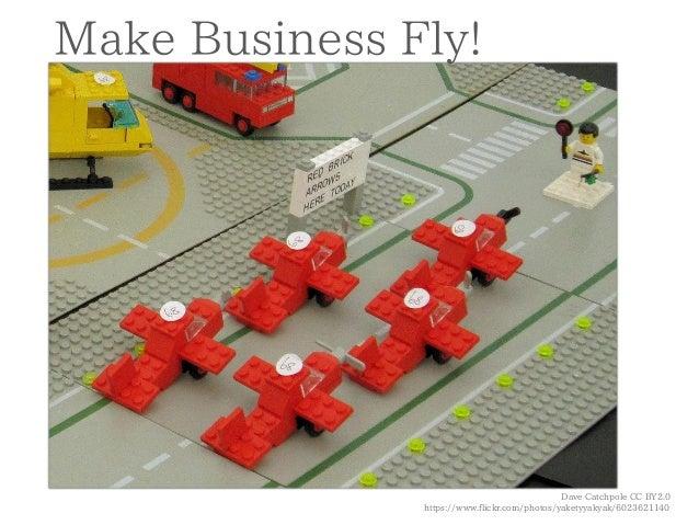 Dave Catchpole CC BY2.0  https://www.flickr.com/photos/yaketyyakyak/6023621140  Make Business Fly!