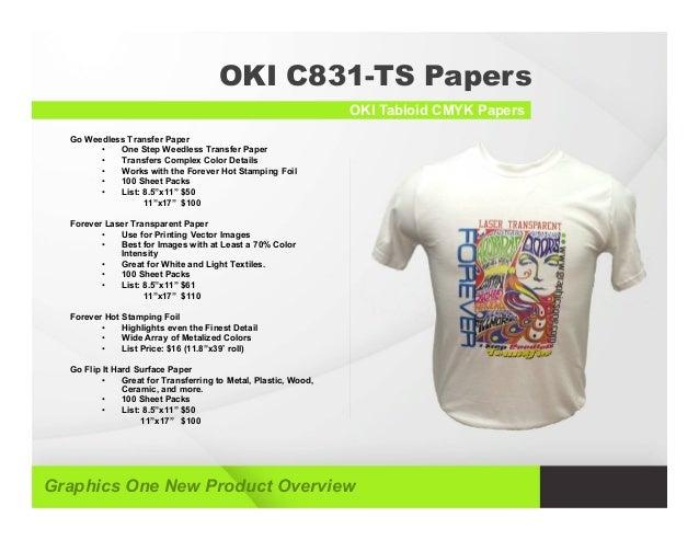 ff16aa7e ... OKI Tabloid CMYK Printer; 4.