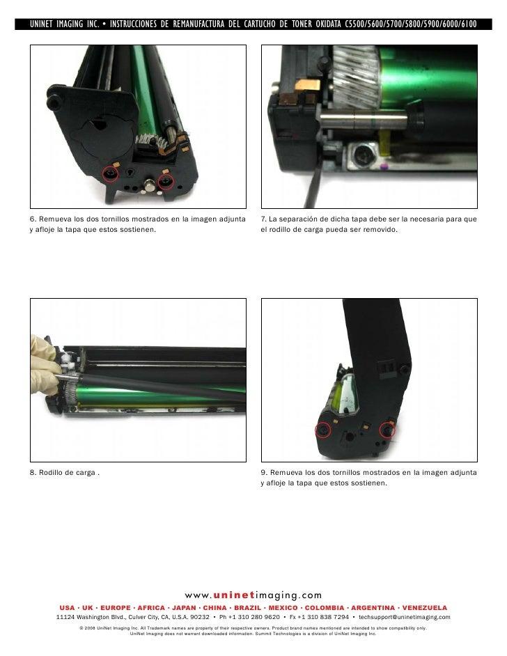 Okidata C5500 Service manual