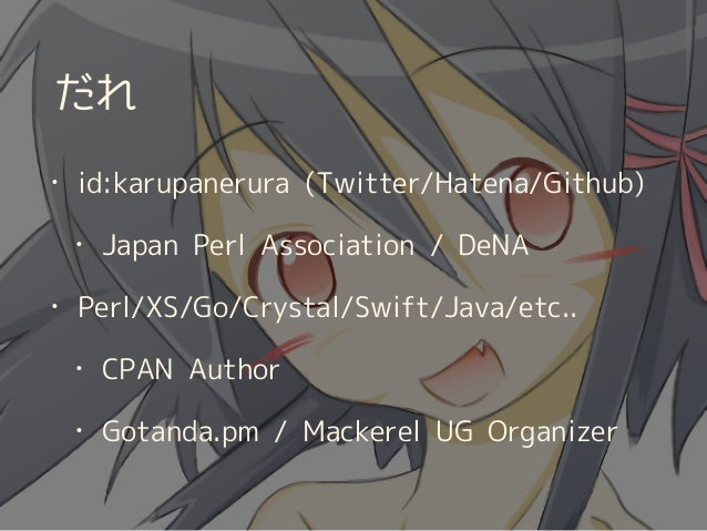 Aniki::Internal Slide 2