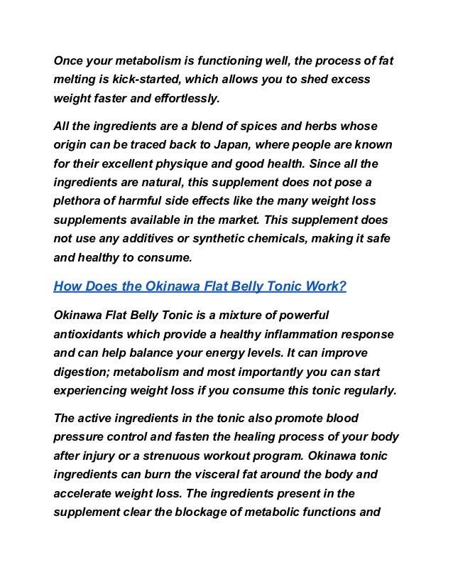 Okinawa tonic refund policy & identifying  scams Slide 2