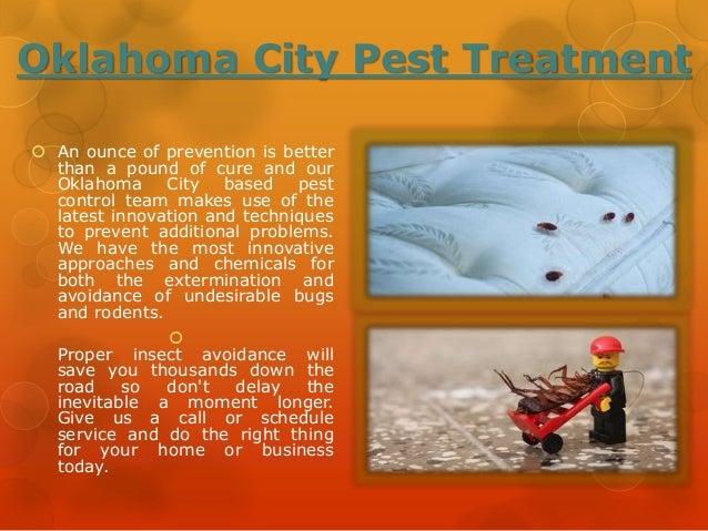 Oklahoma City Pest Treatment Slide 3