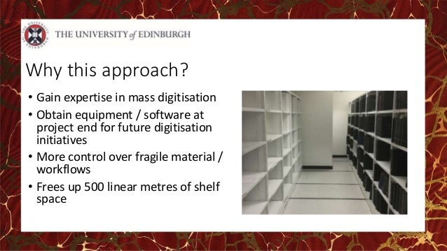 uk thesis digitisation project K 1 library committee wednesday 12th october 2016 thesis digitisation project update description of paper 1 this paper provides an update on the library's project to digitise its entire.