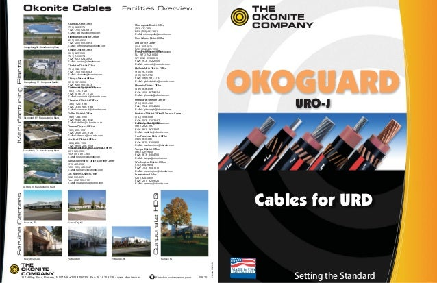 Okonite High Voltage Cable : Okonite high voltage underground power cables epr