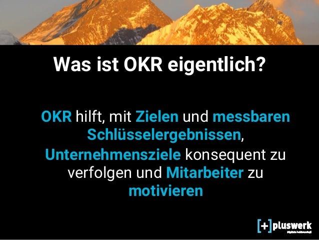 OKR in 7 Schritten Slide 3