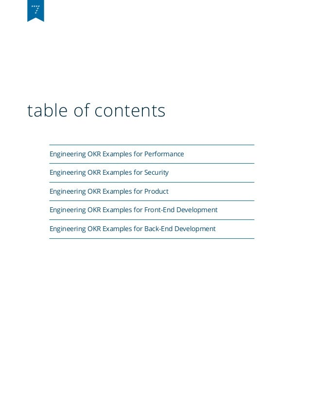 Software Engineering OKR Examples Slide 3