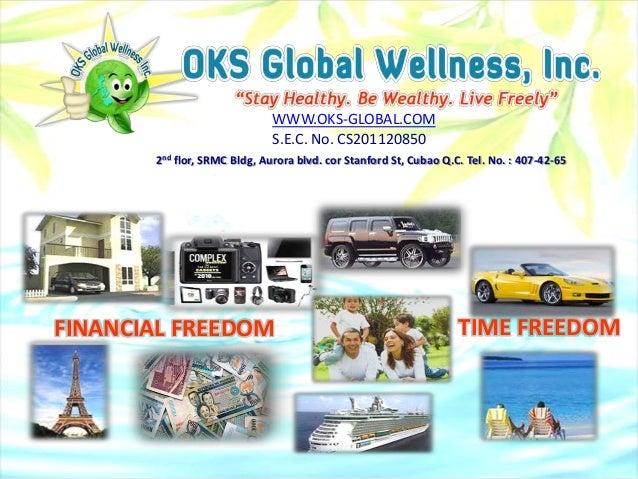 WWW.OKS-GLOBAL.COM                              S.E.C. No. CS201120850       2nd flor, SRMC Bldg, Aurora blvd. cor Stanfor...