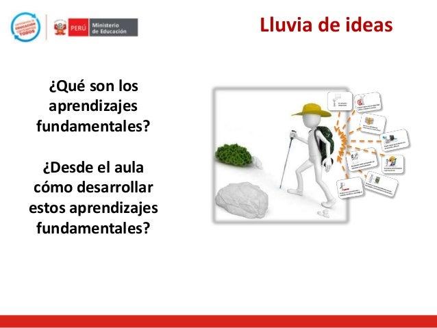Aprendizajes Fundamentales  Son competencias generales , que todos los estudiantes peruanos sin excepción necesitan lograr...