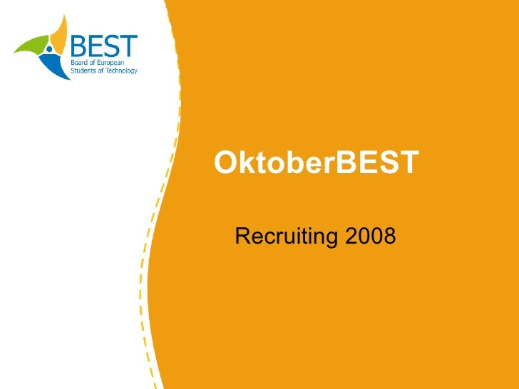 OktoberBEST Recruiting 2008