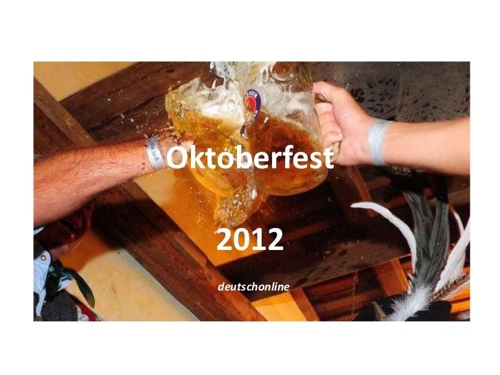 Oktoberfest   2012   deutschonline
