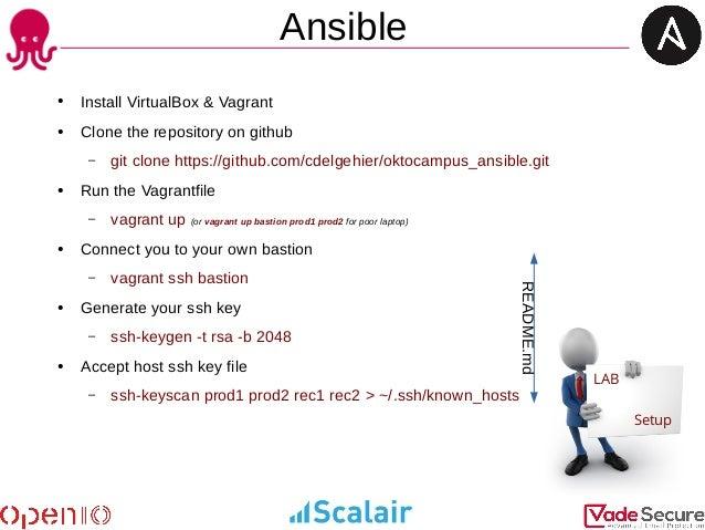 ansible run ssh key