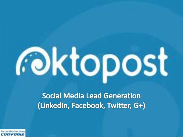Now the first question you're asking is… What's the Difference Between Hootsuite and Oktopost? • Hootsuite is a platform t...