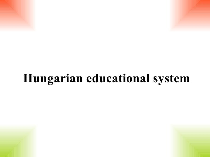 Hungarian educational system