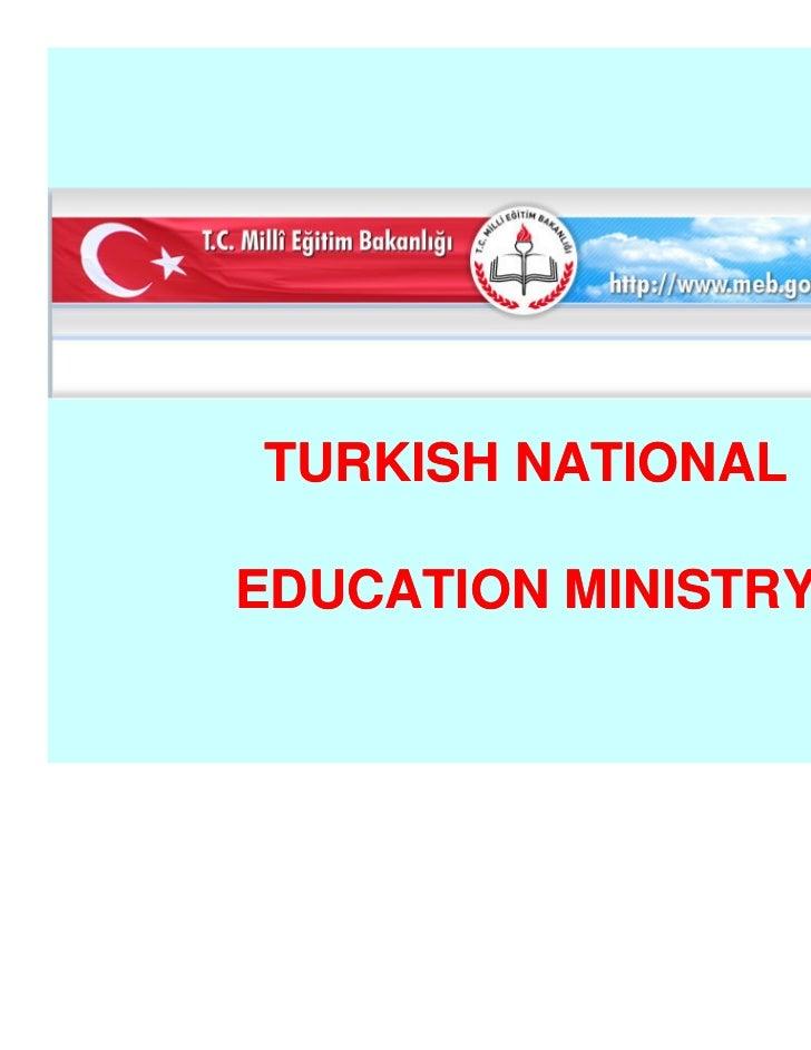 TURKISH NATIONALEDUCATION MINISTRY                     www.elazigeml.k12.tr