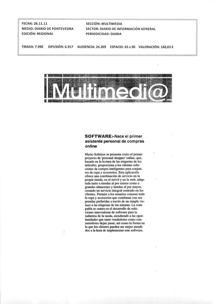 Okuri Ventures & Tetuan Valley - Menciones en medios Dic2011