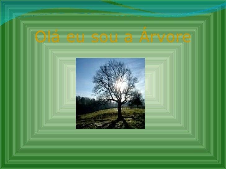 Olá eu sou a Árvore
