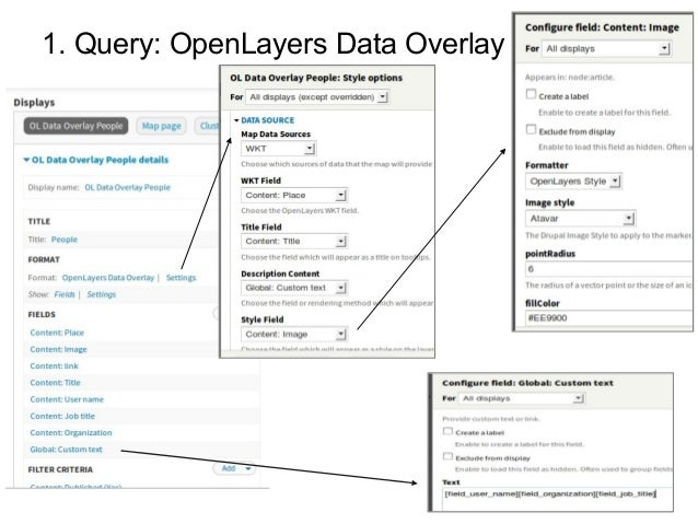 1. Query: OpenLayers Data Overlay