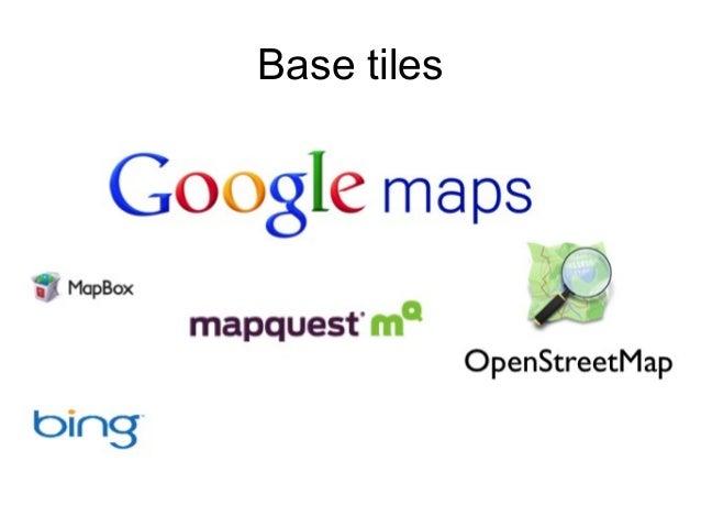 .. and more ● Custom base tiles: Tilemill ● Custom visualization: d3, JavaScript ● Import: Feeds ● Proximity search: Geofi...
