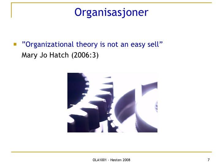 mary jo hatch contribution to the organizational culture body of knowledge To a discipline or body of knowledge w and s shichman 1987 how to grow an organizational culture personnel hatch, mary jo 1996.