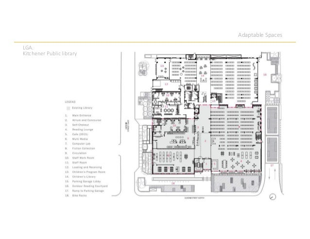 Adaptable Spaces LGA. Kitchener Public library