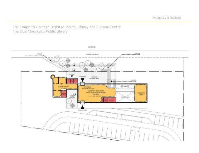 Adaptable Spaces The Craigleith Heritage Depot Museum, Library and Cultural Centre The Blue Mountains Public Library