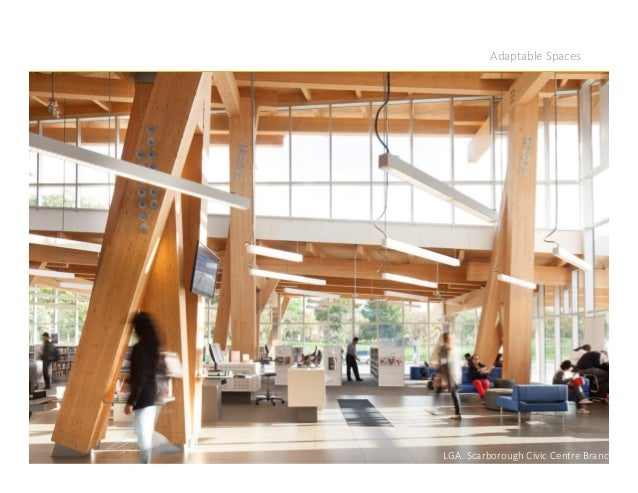 Adaptable Spaces LGA. Scarborough Civic Centre Branch