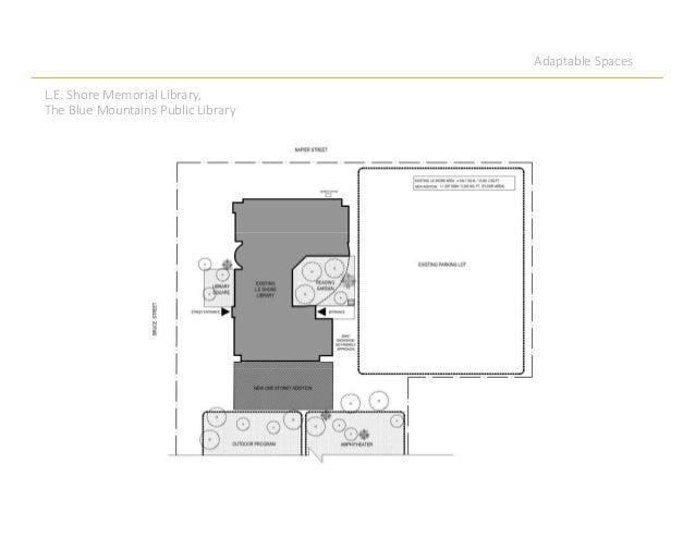 Adaptable Spaces L.E. Shore Memorial Library, The Blue Mountains Public Library