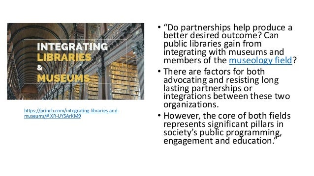 """Museums also impact the community and the visitors they serve. As stated in """"The role of the Museum in Society"""" by Emmanue..."""