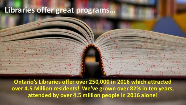 But they love and visit their public libraries more.