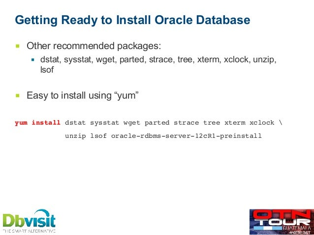 oracle database 11gr2 installation guide linux