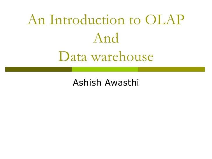Olap introduction