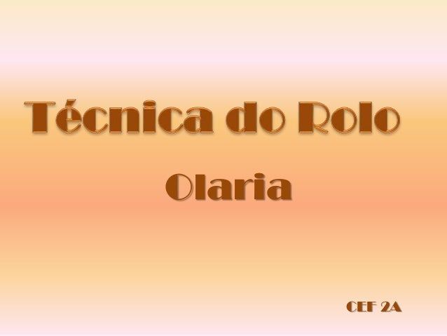 Olaria CEF 2A